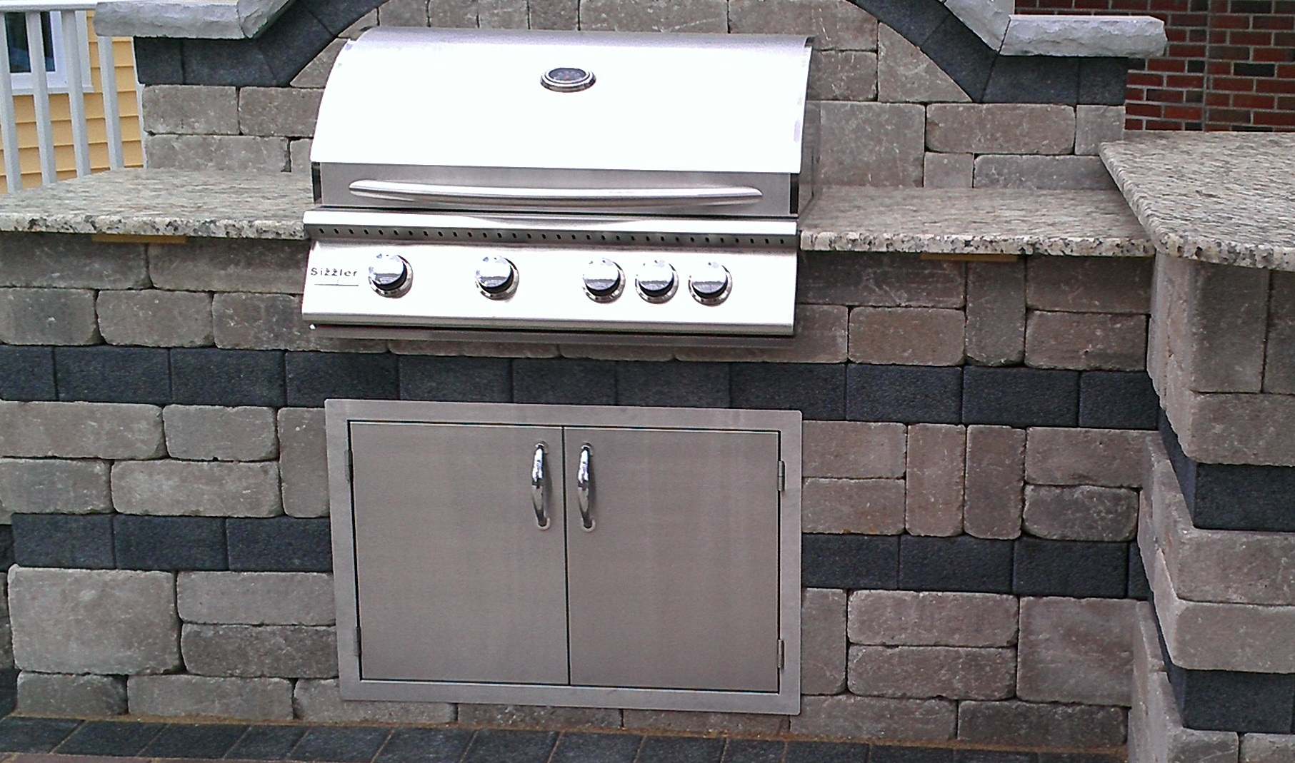 The bbq door 30 stainless steel bbq doors for your for External kitchen doors